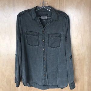 Express boyfriend long sleeve shirt